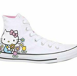 Converse x Hello Kitty High tops 8
